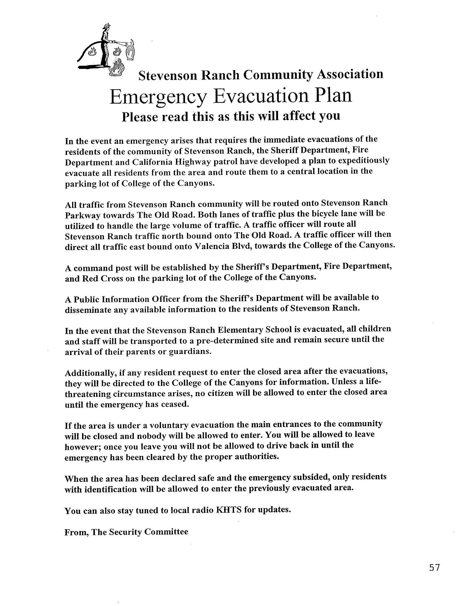 sr-evacuation-plan